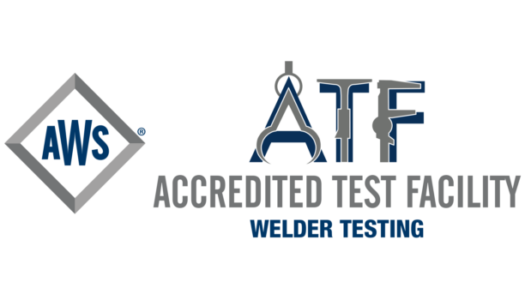 Integrity Welding, Inc. is an American Welding Society (AWS) Accredited Test Facility