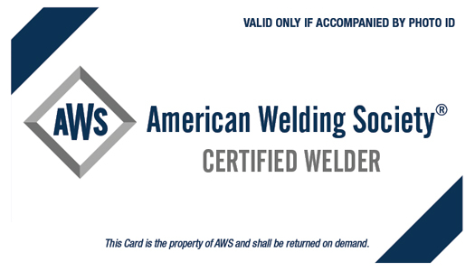 Welders Performance Testing - Integrity Welding, LLC.